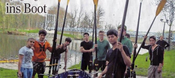 Ruderverein Grimma holt junge Afghanen ins Boot